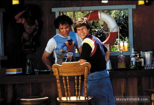 Boogie Nights - Publicity still of Mark Wahlberg & John C. Reilly