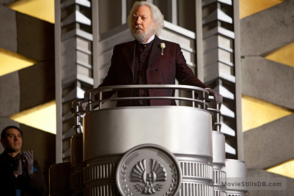 The Hunger Games - Publicity still of Donald Sutherland