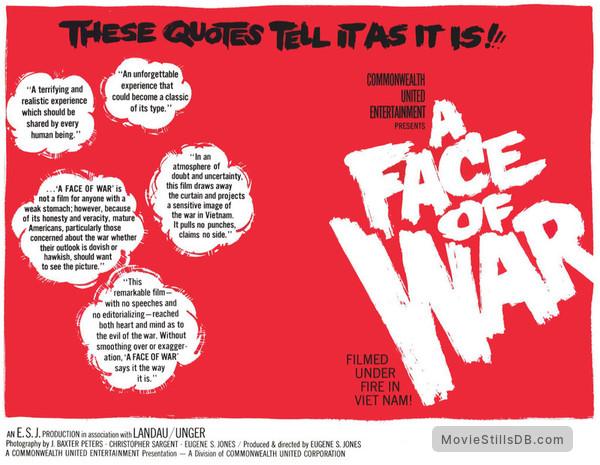 A Face of War - Lobby card