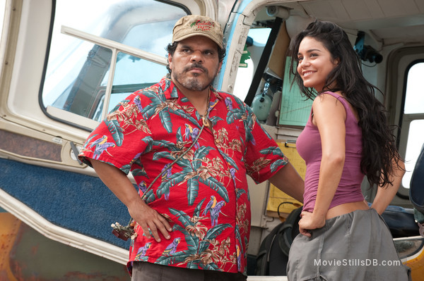 Journey 2: The Mysterious Island - Publicity still of Vanessa Hudgens & Luis Guzmán