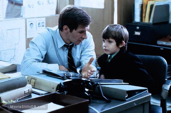 Witness - Publicity still of Harrison Ford & Lukas Haas