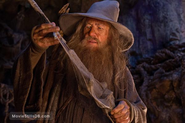 The Hobbit: An Unexpected Journey - Publicity still of Ian McKellen