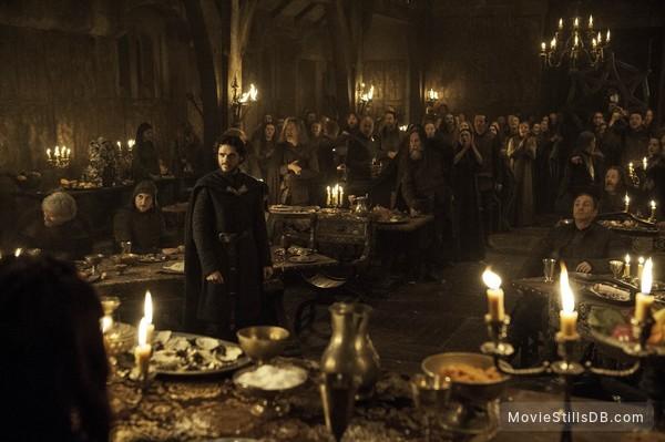 Game of Thrones - Publicity still of Richard Madden & Michael McElhatton