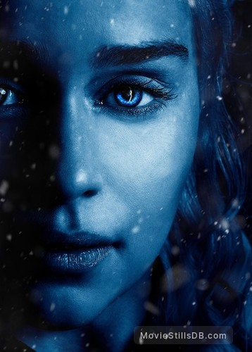 Game of Thrones - Promotional art with Emilia Clarke