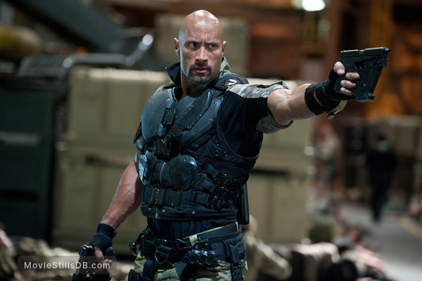 G.I. Joe: Retaliation - Publicity still of Dwayne Johnson