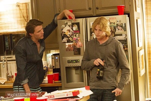 1 Mile to You - Publicity still of Graham Rogers & Thomas Cocquerel