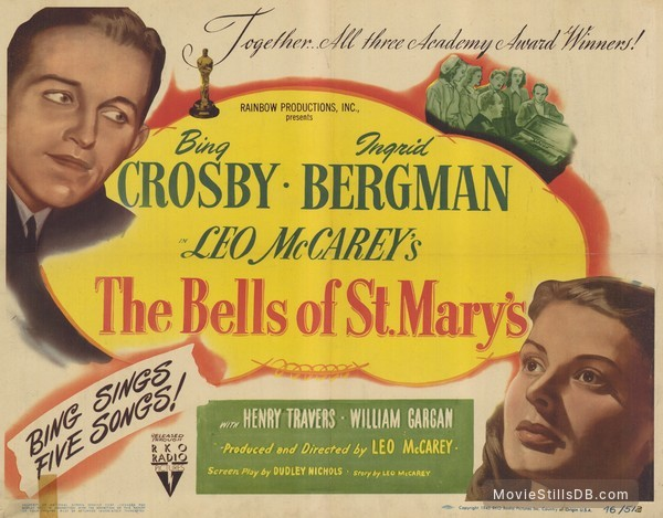 Image result for Bells of St. Mary's 1945