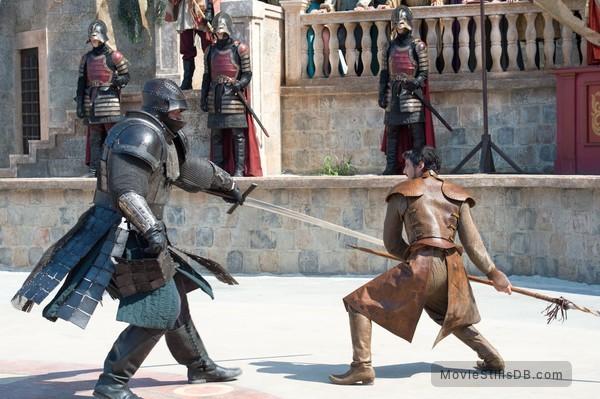 Game of Thrones - Publicity still of Hafþór Júlíus Björnsson & Pedro Pascal