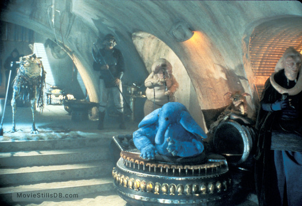 Star Wars: Episode VI - Return of the Jedi - Publicity still of Billy Dee Williams & Michael Carter