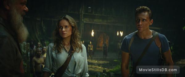 Kong: Skull Island - Publicity still of Tom Hiddleston & Brie Larson