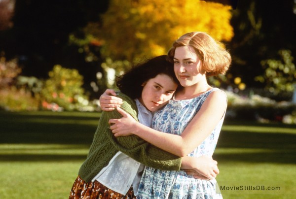 Heavenly Creatures - Publicity still of Kate Winslet & Melanie Lynskey