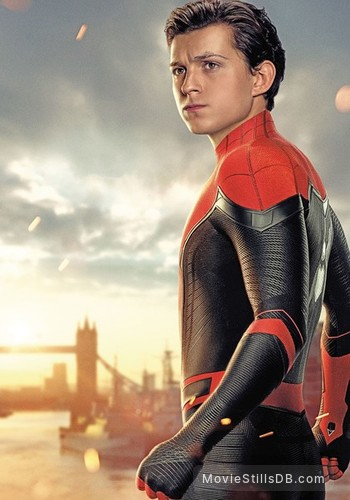 Spider-Man: Far From Home - Promotional art with Tom Holland