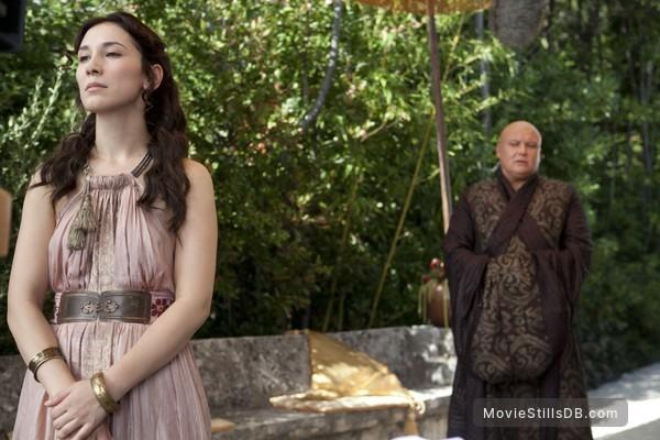 Game of Thrones - Publicity still of Conleth Hill & Sibel Kekilli