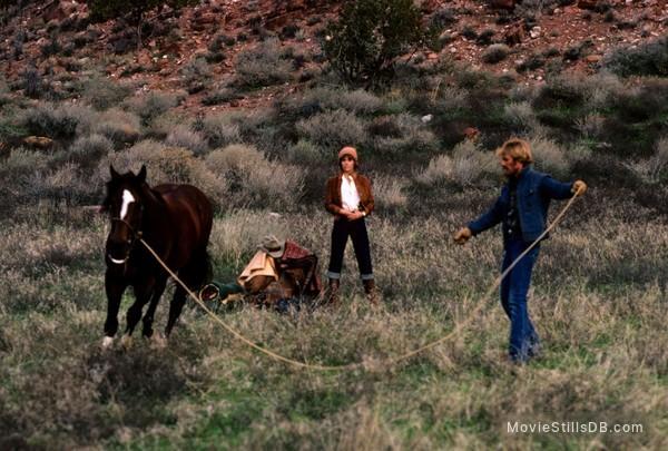 The Electric Horseman - Publicity still of Robert Redford & Jane Fonda