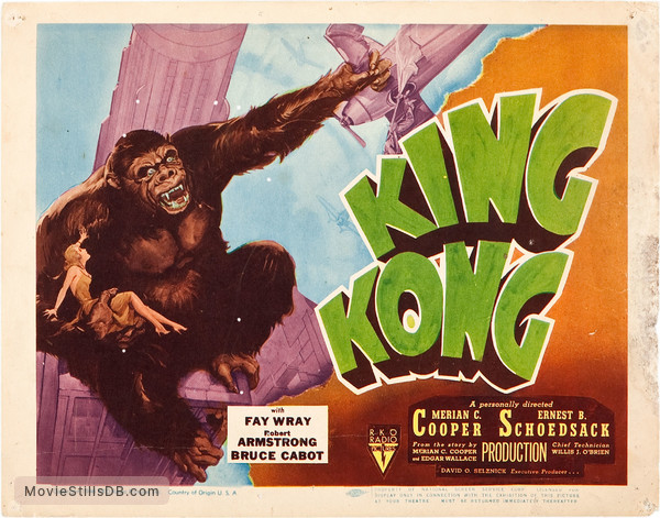 King Kong - Lobby card