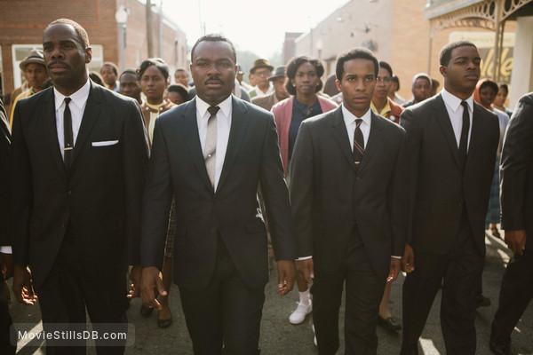 Selma - Publicity still of David Oyelowo, André Holland, Colman Domingo & Stephan James