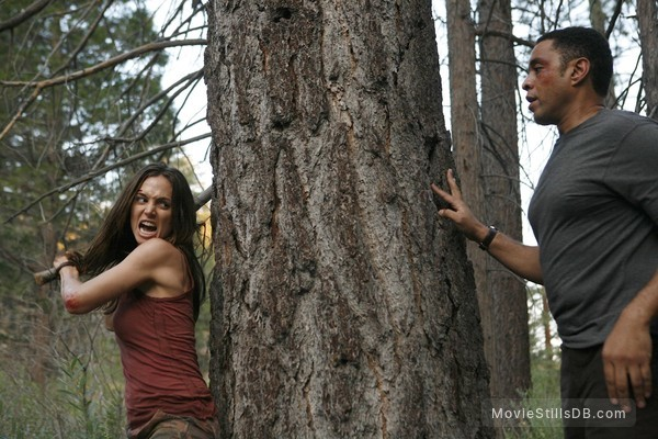 Dollhouse - Publicity still of Eliza Dushku & Harry Lennix