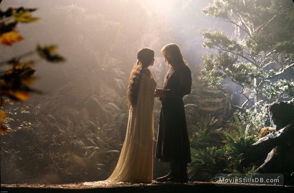 The Lord of the Rings: The Fellowship of the Ring - Publicity still of Liv Tyler & Viggo Mortensen