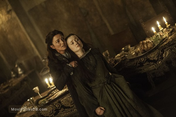 Game of Thrones - Publicity still of Michelle Fairley & Kelly Long