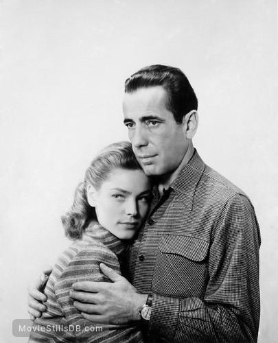 Key Largo - Publicity still of Humphrey Bogart & Lauren Bacall