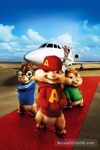 Alvin and the Chipmunks: The Squeakquel - Promotional art
