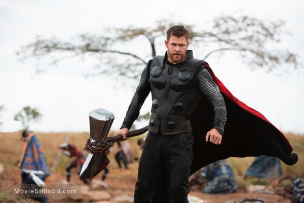 Avengers: Infinity War - Publicity still of Chris Hemsworth