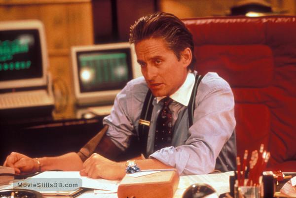 Wall Street - Publicity still of Michael Douglas