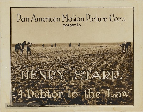 A Debtor to the Law - Lobby card
