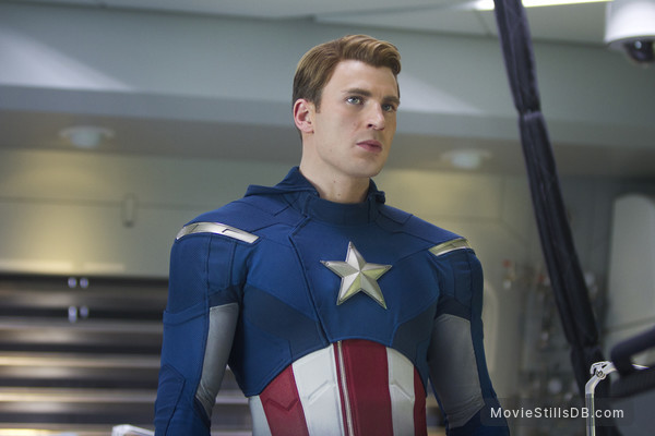 The Avengers - Publicity still of Chris Evans