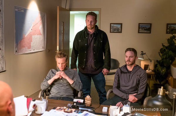 Acts of Violence - Publicity still of Ashton Holmes, Cole Hauser & Shawn Ashmore