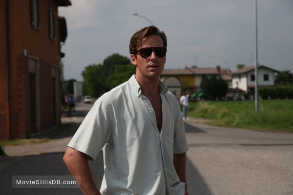 Call Me by Your Name - Publicity still of Armie Hammer