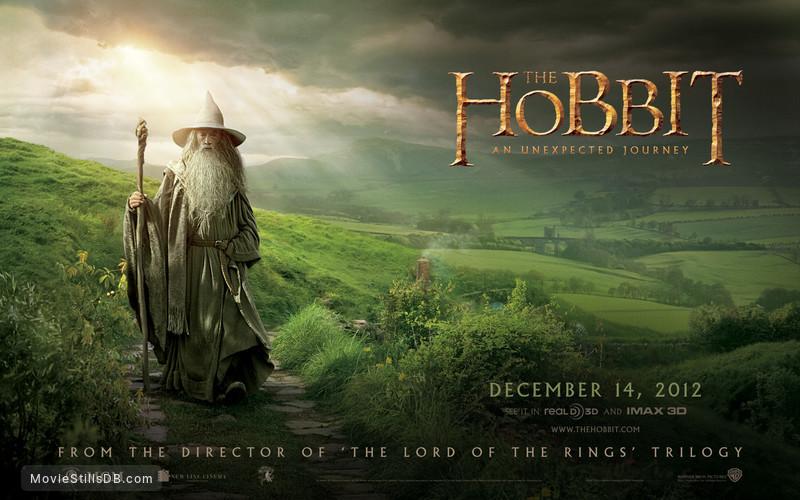 The Hobbit: An Unexpected Journey - Wallpaper with Ian McKellen