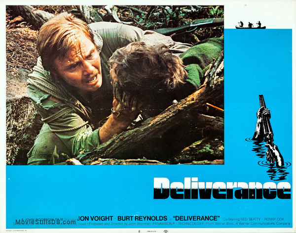 Deliverance - Lobby card with Jon Voight