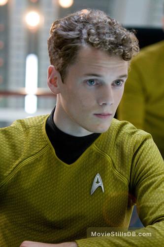 Star Trek - Publicity still of Anton Yelchin