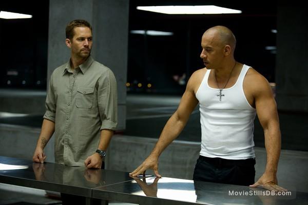 Furious 6 - Publicity still of Paul Walker & Vin Diesel
