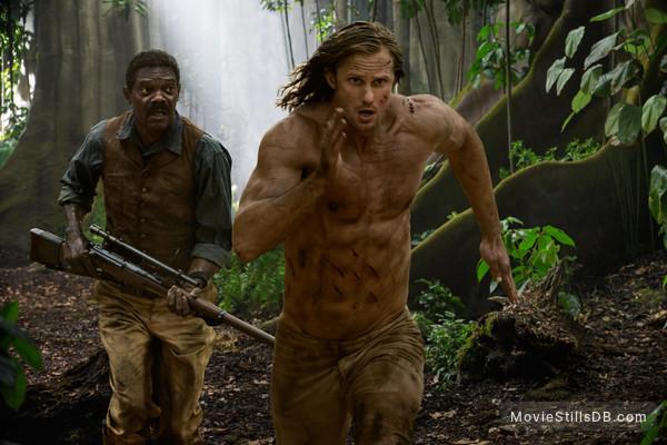 The Legend of Tarzan - Publicity still of Alexander Skarsgård & Samuel L. Jackson