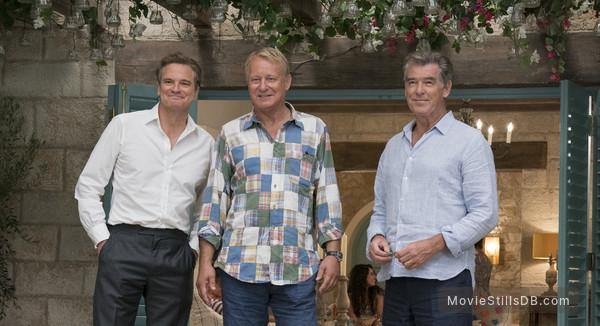 Mamma Mia! Here We Go Again - Publicity still of Pierce Brosnan, Colin Firth & Stellan Skarsgård