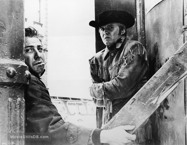Midnight Cowboy - Publicity still of Dustin Hoffman & Jon Voight