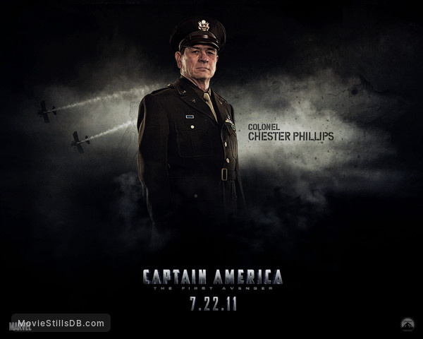 Captain America: The First Avenger - Wallpaper with Tommy Lee Jones
