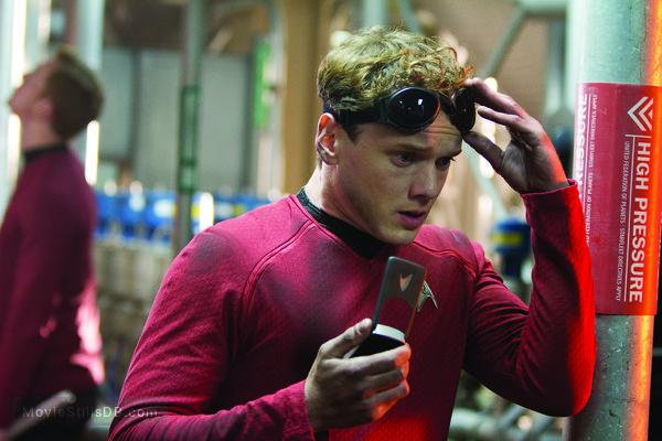 Star Trek: Into Darkness - Publicity still of Anton Yelchin