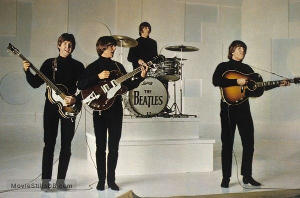 Help! - Publicity still of John Lennon, Ringo Starr, George Harrison & Paul McCartney