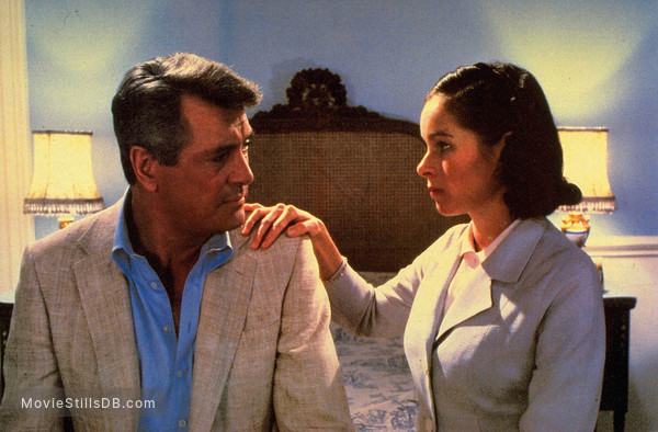 The Mirror Crack'd - Publicity still of Rock Hudson & Geraldine Chaplin