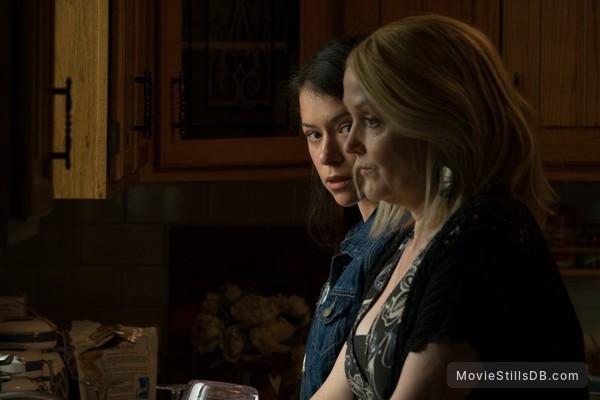 Stronger - Publicity still of Tatiana Maslany & Miranda Richardson