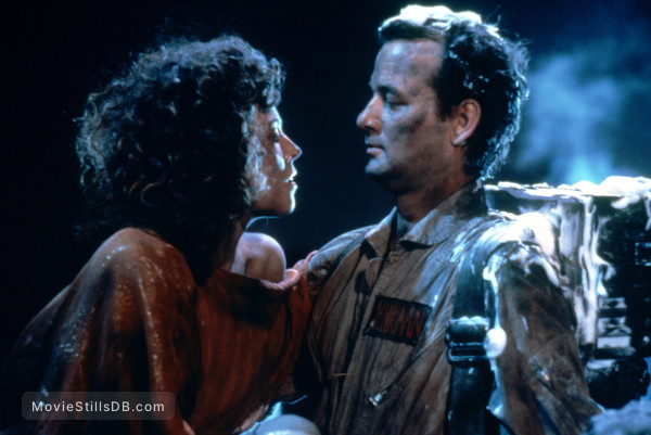 Ghost Busters - Publicity still of Bill Murray & Sigourney Weaver