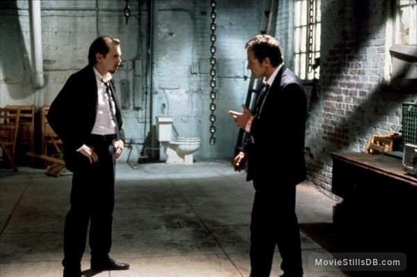 Reservoir Dogs - Publicity still of Harvey Keitel & Steve Buscemi