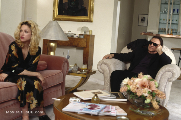 Dangerous Game - Publicity still of Madonna & Harvey Keitel