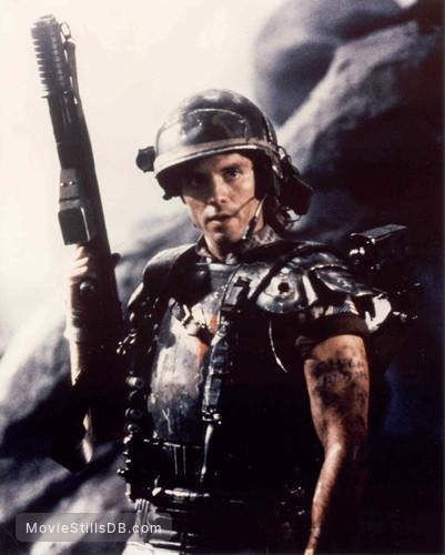Aliens - Publicity still of Michael Biehn