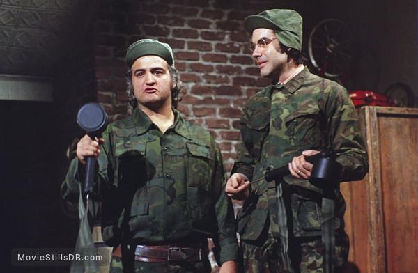 Saturday Night Live - Publicity still of John Belushi & Robert Klein
