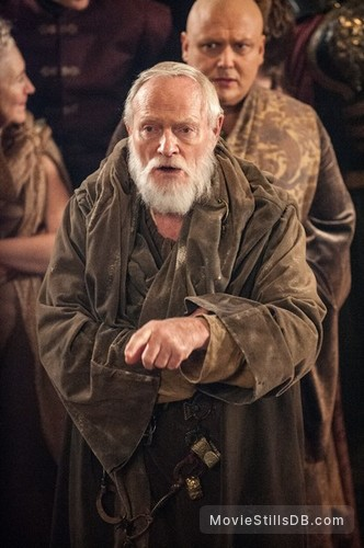 Game of Thrones - Publicity still of Conleth Hill & Julian Glover
