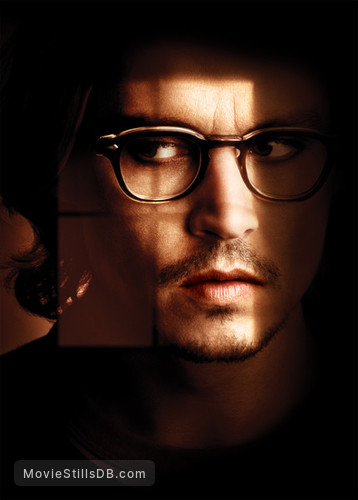 Secret Window - Promotional art with Johnny Depp